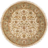 Hand-knotted Gene Wool Area Rug - 8' x 8'