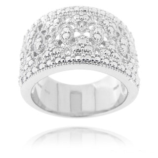 Link to DB Designs Diamond Accent Lace Filigree Design Ring Similar Items in Rings