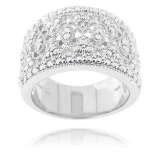 DB Designs Diamond Accent Lace Filigree Design Ring (More options available)