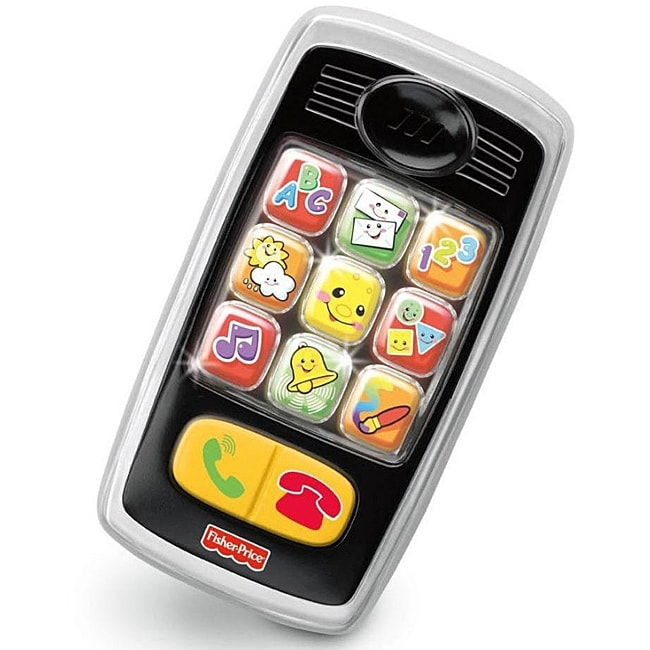 Fisher-Price Laugh and Learn Smilin' Smart Phone - Thumbnail 0