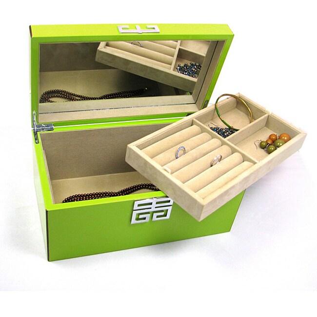 Seya Green High Gloss Jewelry Box