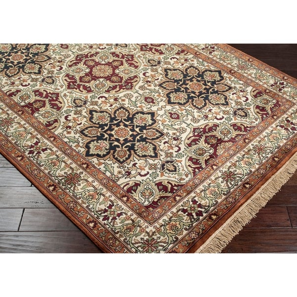 Hand-knotted Huntington Wool Rug (8'6 x 11'6)