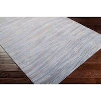 Hand-knotted Keighley Abstract Design Wool Area Rug - 2'6 x 10'