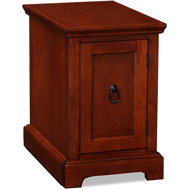 Westwood Cherry Printer Stand/ Cabinet End Desk - Free Shipping Today