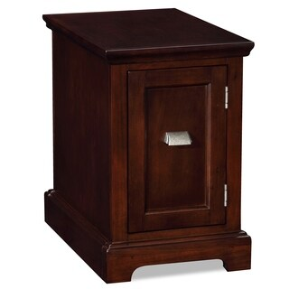 Chocolate Cherry Printer Stand/ Cabinet End Desk
