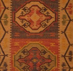 Indo Tribal Kilim Flat Weave Rug (4' x 6') - Thumbnail 1