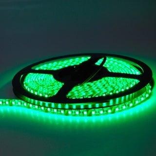 ITLED 3528 Outdoor LED Strip Lights 12V 600 (Option: Green)