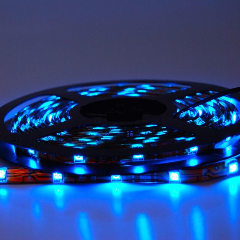 Itled 5050 12V 150 LEDs Waterproof Strip Lighting (Blue) ...