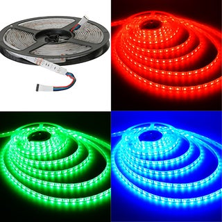 ITLED 5050 12V 300 LEDs Waterproof Strip Lighting (Option: Green/Blue/Red)