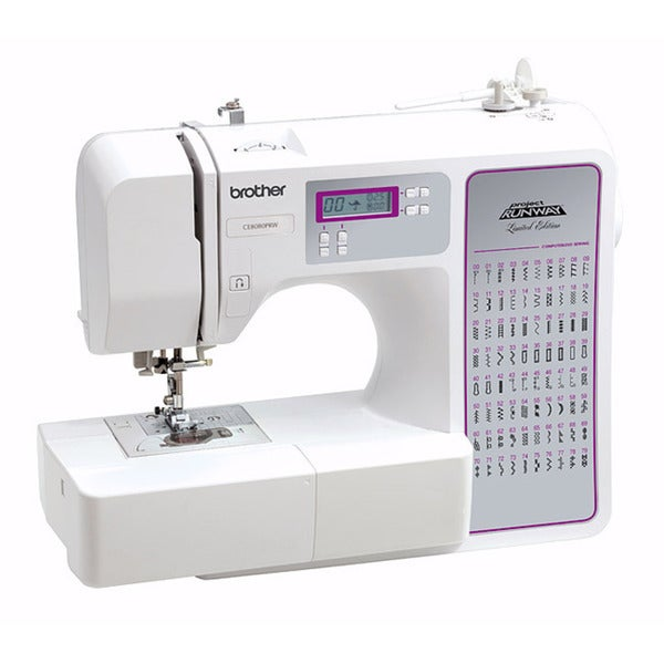 Brother CE8080 PRW 80-stitch Limited Edition Project Runway Computerized Sewing Machine Factory Refurbished