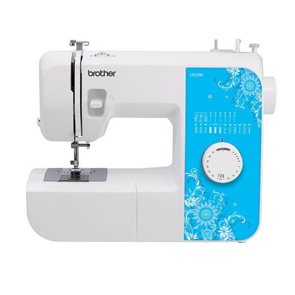 Brother LX2500 Heavy Duty 17-Stitch Free-Arm Sewing Machine Factory Refurbished