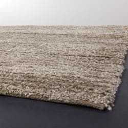 Artist's Loom Hand-woven Shag Rug (5' x 7'6) - Thumbnail 1