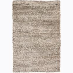 Artist's Loom Hand-woven Shag Rug - 9' x 13' - Thumbnail 0