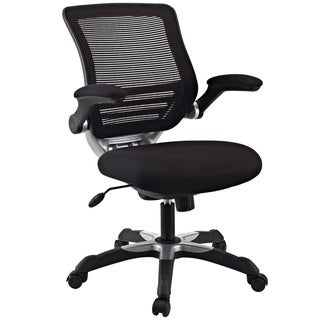 Comfort-Flex Mid-back Black Mesh Office Task Chair
