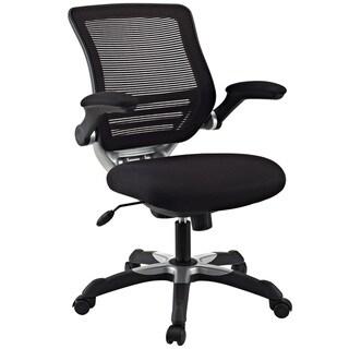 Comfort-Flex Mid-back Black Mesh Office Task Chair