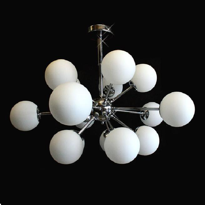 Modern 15 Light Sputnik Contemporary Chrome Atom