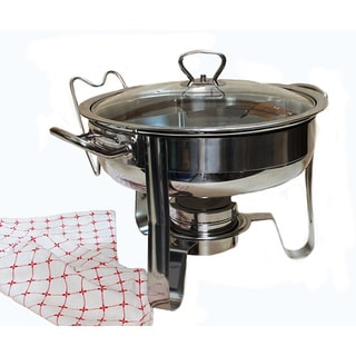 4 qt. Stainless Steel Chafing Dish Design