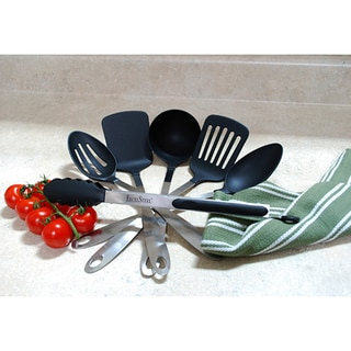 Stainless Steel Kitchen 6-piece Tool Set with Nylon Serving Tips