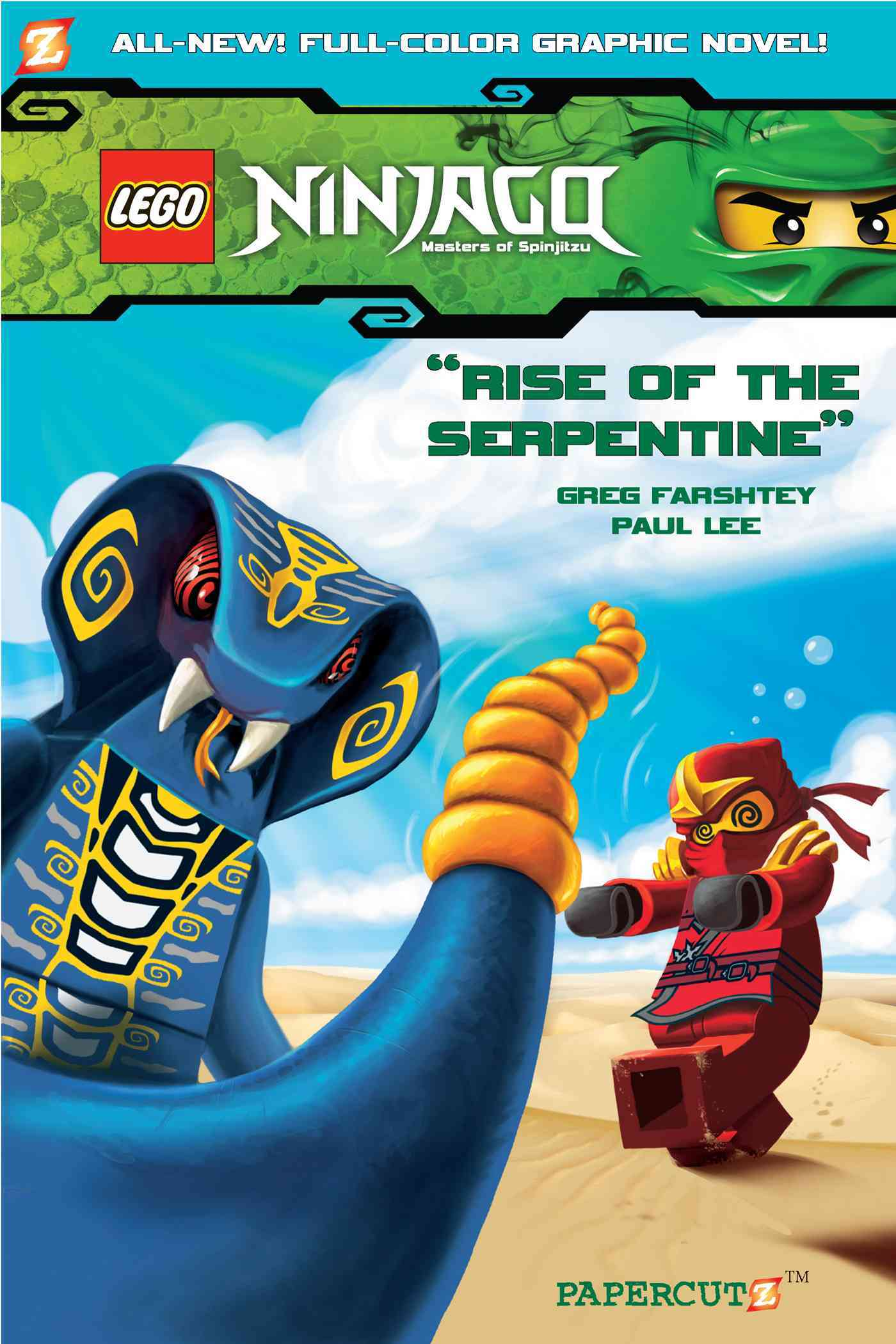 Ninjago Graphic Novels 3: Rise of the Serpentine (Paperback) - Thumbnail 0