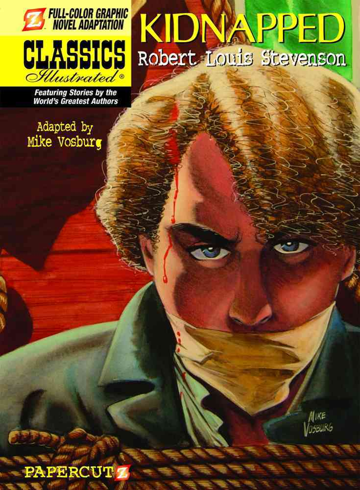Classics Illustrated 16: Kidnapped (Hardcover)
