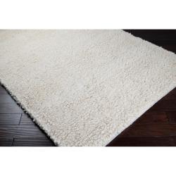 Hand-woven  Edenbridge New Zealand Wool Plush Shag Rug (9' x 13') - Thumbnail 1