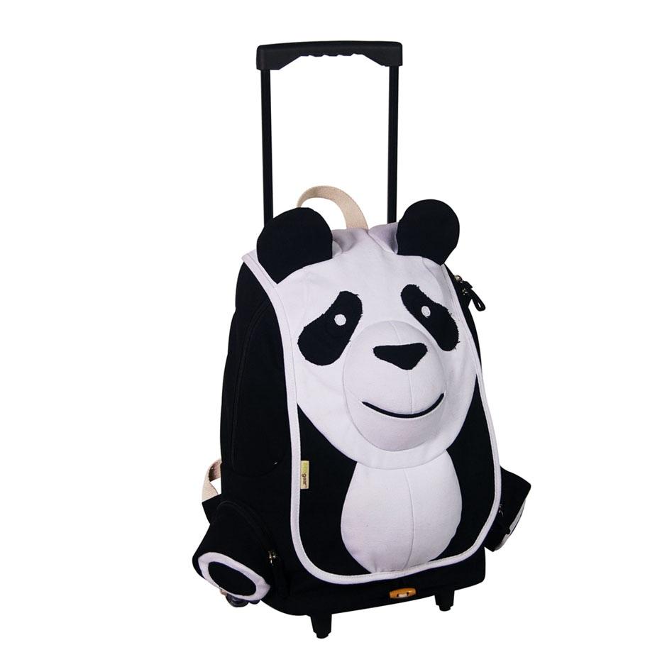 EcoGear EcoZoo Rolling Panda Backpack