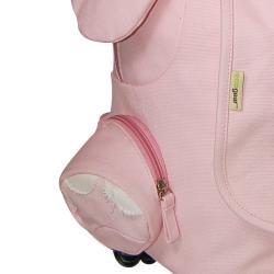 EcoGear EcoZoo Children's Natural-cotton-canvas Rolling Pig Backpack - Thumbnail 2