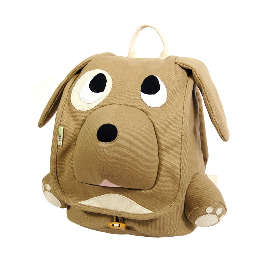 EcoGear EcoZoo Kids' Puppy Cotton-canvas Backpack