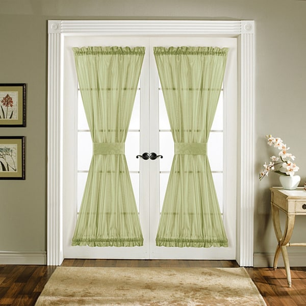 Lush Decor Green 72-inch Sonora Door Panels (Set of 2)
