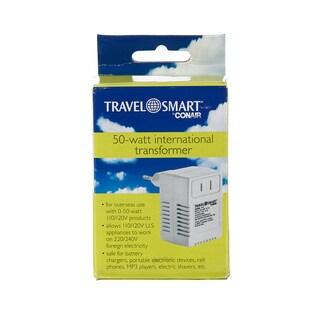 Travel Smart 50-watt Transformer