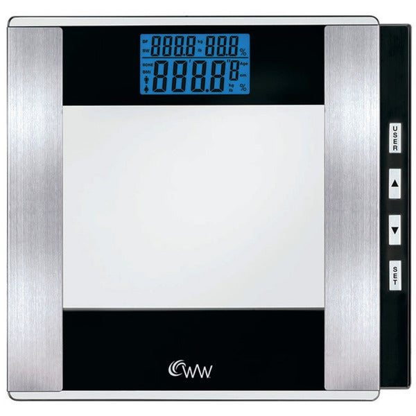 Escali bathroom scale - Weight Watchers By Conair Glass Body Analysis Scale Free