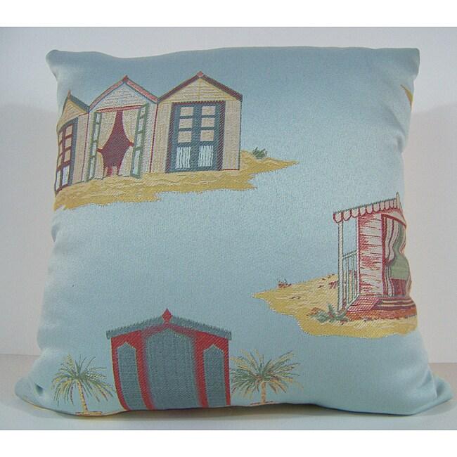 South Beach Aqua Decorative Pillow