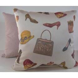 Vanity Cream Decorative Pillow
