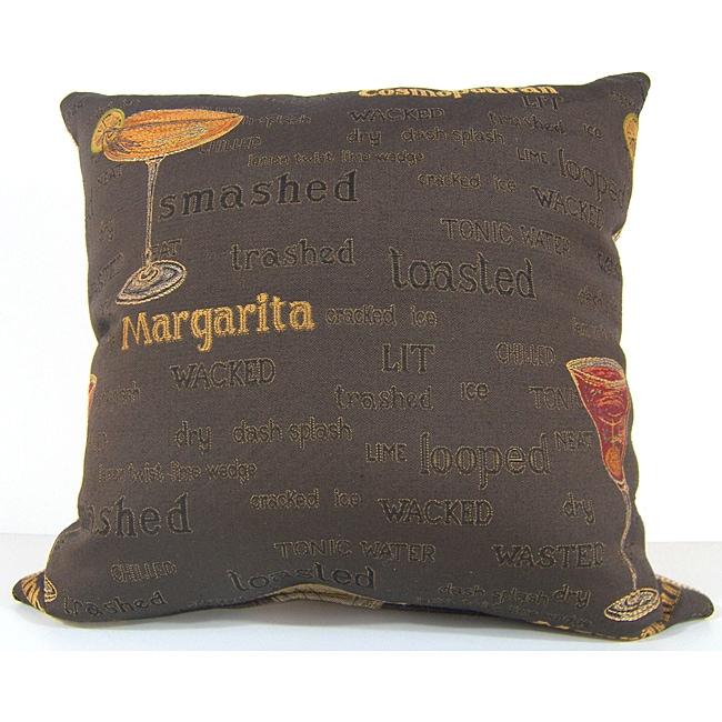 Cocktails Decorative Pillow