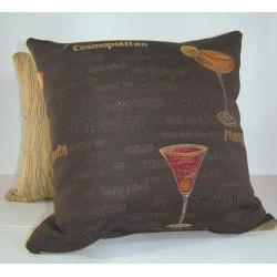 Cocktails Decorative Pillow - Thumbnail 1