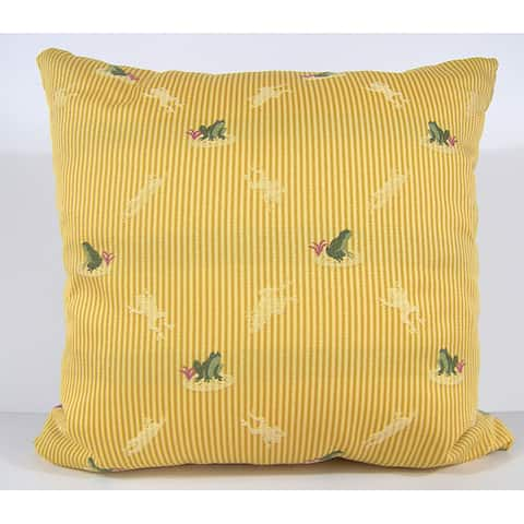 Ribbit Decorative Pillow
