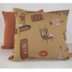 Pin Up Decorative Pillow