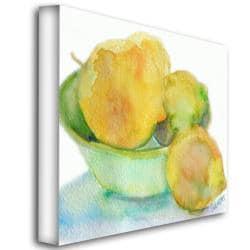 Wendra, 'Lemona' Canvas Art - Thumbnail 1