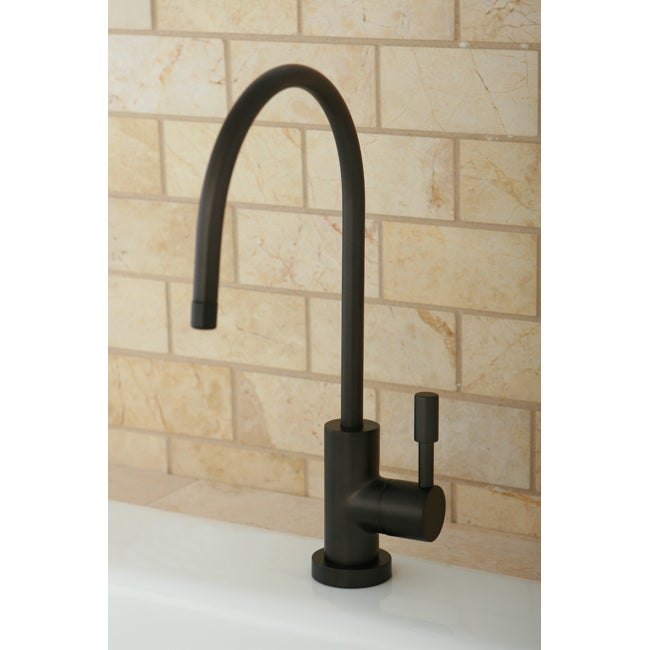Kingston Brass Contemporary Oil Rubbed Bronze Single-hand...