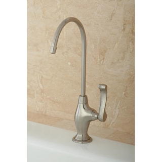 Designer Satin Nickel Single-handle Water Filtration Faucet