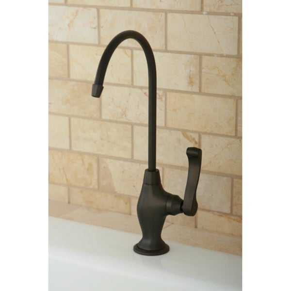 designer oil rubbed bronze single handle water filtration faucet free shipping today. Black Bedroom Furniture Sets. Home Design Ideas