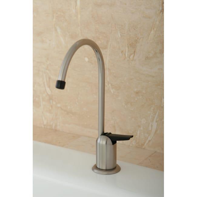 satin nickel single handle water filter faucet free