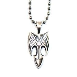 Bico Australia Fine Grade Pewter Blackbird Pendant Necklace
