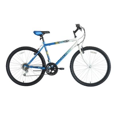 Titan Pioneer Men's 18-Speed Mountain Bike. Blue