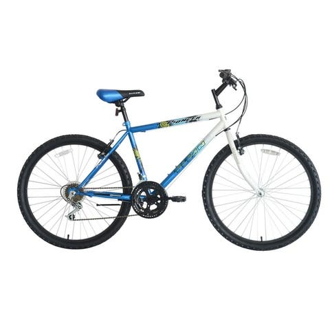 Titan Pioneer Men's 18-Speed Mountain Bike. Blue