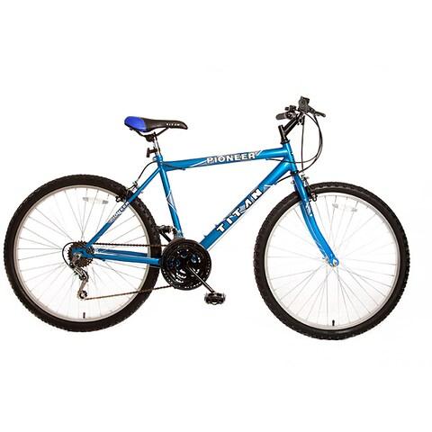 Titan Pioneer Men's Blue 12-Speed Mountan Bike