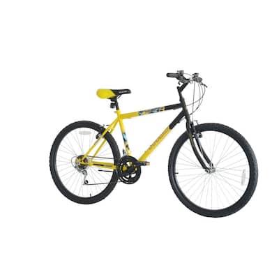 Titan Pioneer Men's 18-speed Mountain Bike, Yellow