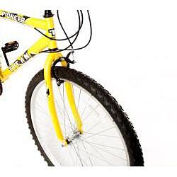 Titan Pioneer Men's Yellow 12-speed Mountain Bike - Thumbnail 1