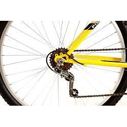 Titan Pioneer Men's Yellow 12-speed Mountain Bike - Thumbnail 2