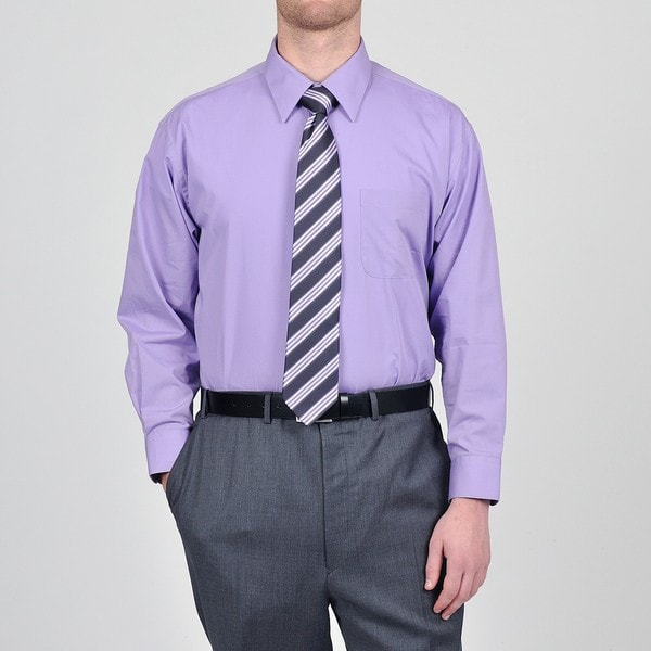 Alexander Julian Colours Men 39 S Purple Heart Dress Shirt